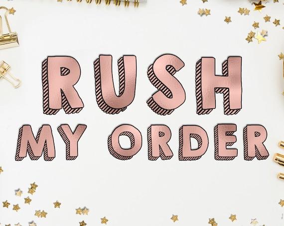 Rush Order Shipping