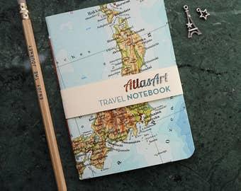 Travel Journal, Japan, Tokyo, 4x5,8inch, 40 p., plain or ruled