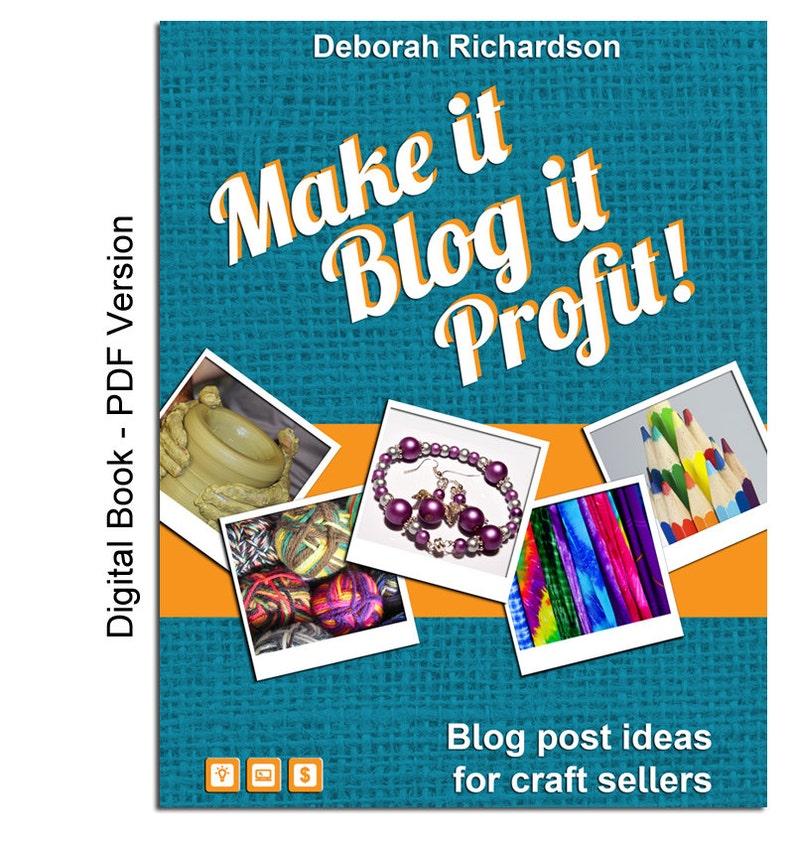 Make It Blog It Profit Blog Post Ideas For Craft Sellers Etsy