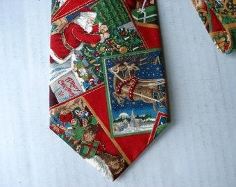 Vintage Christmas tie - Tango by Max Raab