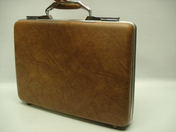Thin briefcase - Vintage American Tourister Polara