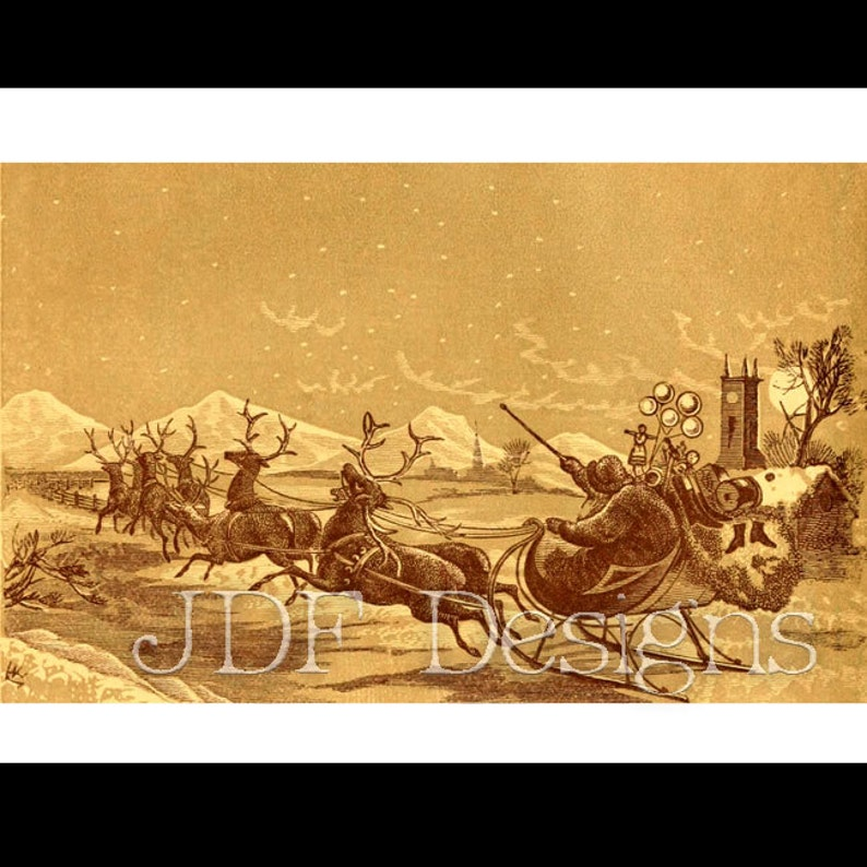 Instant Digital Download Vintage Victorian Era Graphic Sepia image 0