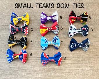 60/% OFF Medium Bow Tie; Dog Collar Sports Teams Bow Tie; Dog Collar Attachment