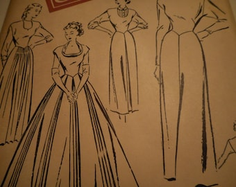 Vintage 1940's Woman's Day 3099 One-Pattern Wardrobe Sewing Pattern Size 18 Bust 36