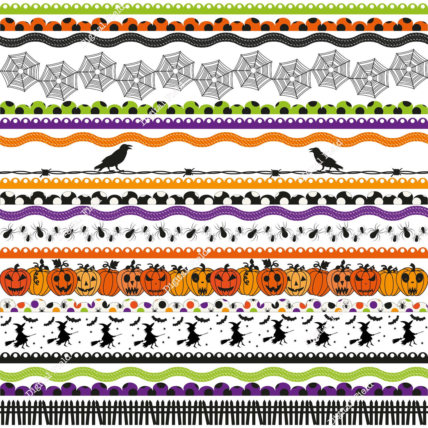 It's just a graphic of Crush Free Printable Halloween Borders