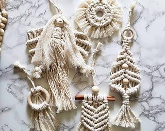 More Boho Christmas Ornaments