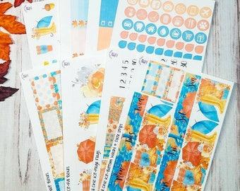 Fall Chic Full sticker kit for the Erin Condren vertical life planner