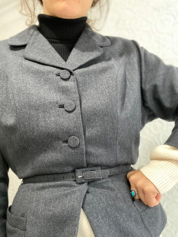 1940s Peplum Blazer