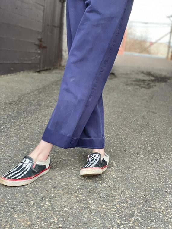 Navy Womens Workwear Trouser-Blue Work Pants-Milit
