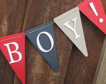 Its a Boy Banner, Baby Shower Banner, Baby Shower Decorations, Baby boy shower decorations
