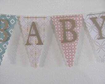 Sweet Baby, Baby Shower Banner, Baby Shower Decorations, Gender Neutral Banner, Gender Neutral Baby Shower Banner