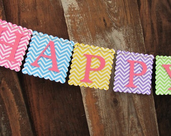Happy Birthday Banner, Birthday Banner, Happy Birthday Banner, Birthday Decorations,