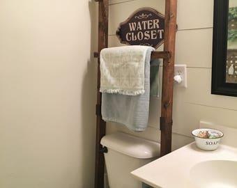 Decoratie Ladder Badkamer : Handdoekenrek badkamer staand handdoekenrek badkamer ikea