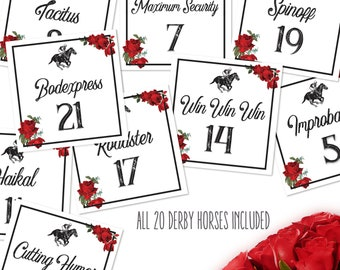 Kentucky Derby Decorations Etsy
