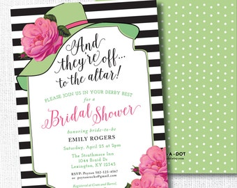 Derby bridal shower Etsy