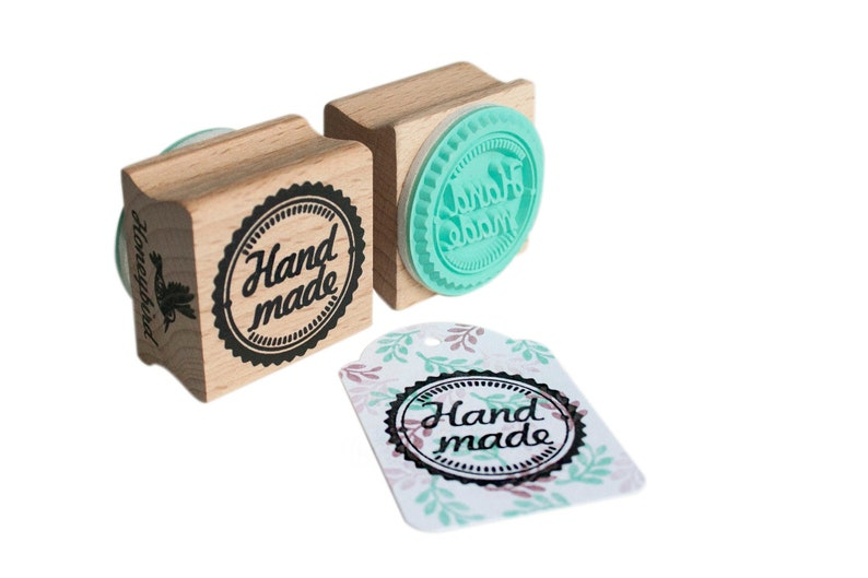 Hand made stamp hand made rubber stamp for diy projects image 0