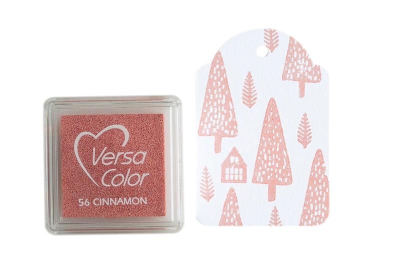 Cinnamon inkpad from Tsukineko versacolor. powder color ink image 0