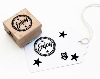 Enjoy stamp