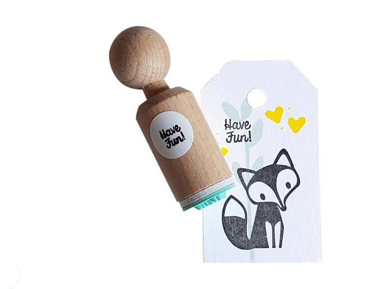 Have Fun stamp mini stamp Have Fun Have Fun ink stamp Have image 0