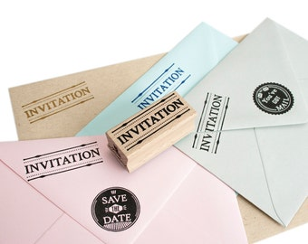 INVITATION stamp