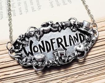 Alice in Wonderland Pendant