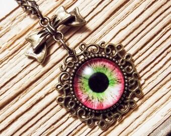 Eyeball Pendants - 4 Colors Available