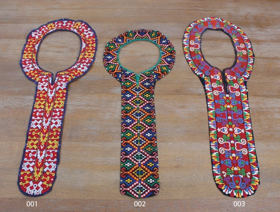 Collar, Turkoman Collar, Handcrafted Collar, Embro
