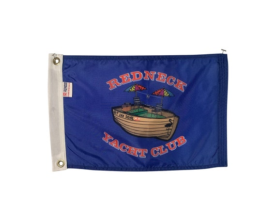 """12x18/"""" Durable All Weather Nylon Boat Flag Burgee Let Your Freak Flag Fly"""