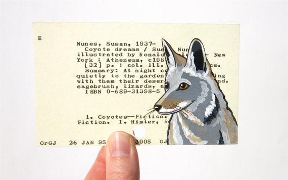 the library card summary