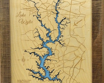 Lake Hartwell GA & SC Wood Laser Cut Topographical Engraved ... on topo map of squaw creek reservoir, antique map of lake hartwell, topo map of pinnacle mountain, topo map of ladue reservoir, topo map of owyhee reservoir, topo map of ross barnett reservoir, topo map of gibbons creek reservoir, topo map of athens, topo map of potomac river, topo map of united states, topo map of myrtle beach, topo map of aurora reservoir,