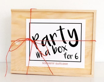 Party in a Box for 6