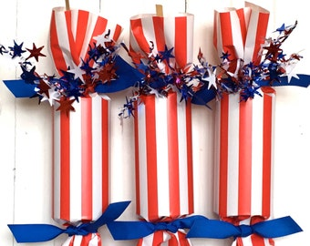 Stars and Stripes Party Cracker