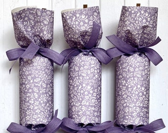 LIMITED EDITION! Lavender Party Cracker       Set of 10