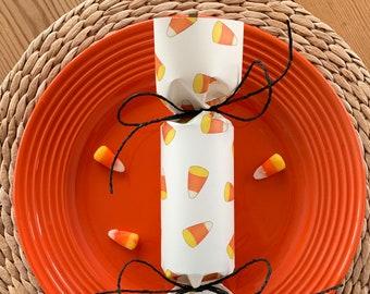Candy Corn Halloween Party Cracker  Set of 6