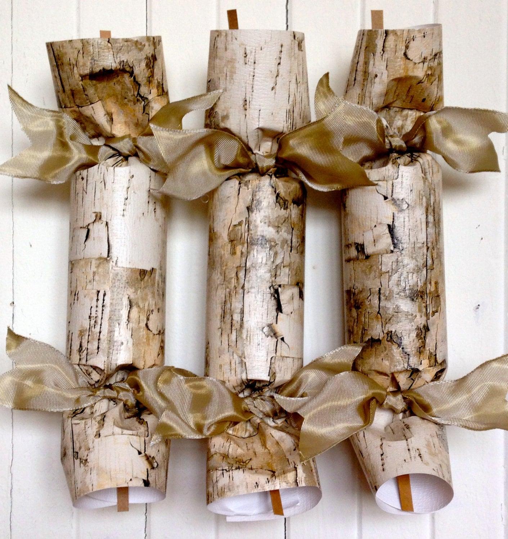 Faux Birch Wedding Cracker Etsy