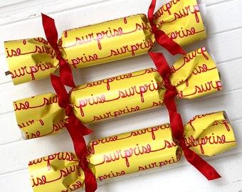 Surprise Party Cracker  Set of 6