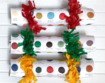 NEW! Color Chart Party Cracker       Set of 6