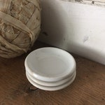 Antique Ironstone Butterpats