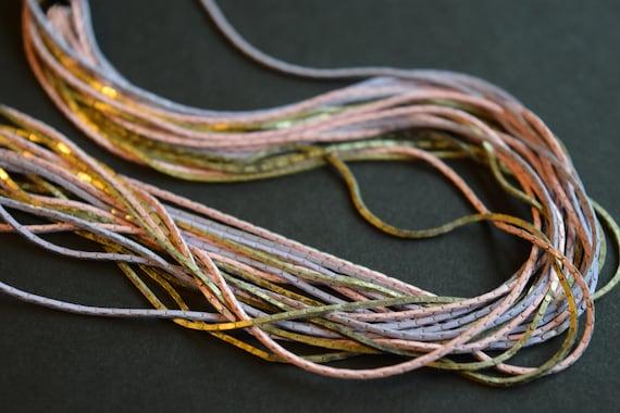 Multi Strand Chain, Purple Chain, Pink Chain, Lav… - image 7