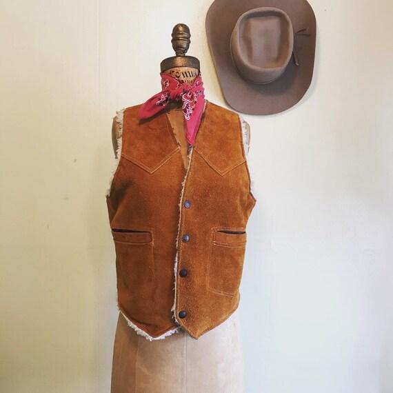 URBAN COWGIRL Western Cowboy 1970's Vintage 1970s