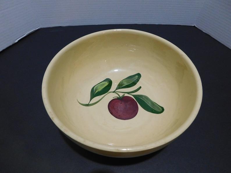 Vintage Watt Ware Apple Pattern Bowl #73