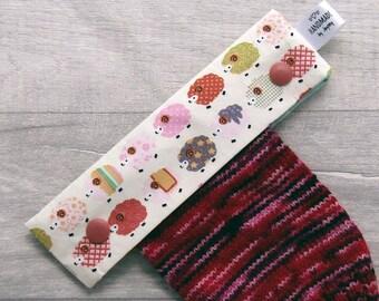 Fairy /& Stars 6 inch DPN knitting needle holder