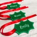 Jeniffer Fovargue reviewed Holly Stocking Name Tags, Christmas Gift Tags