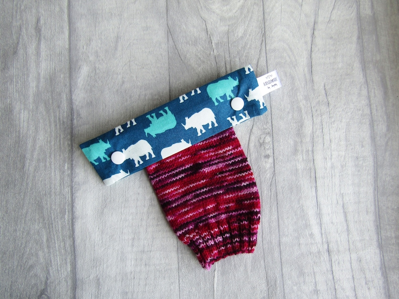 Rhino 6 inch DPN knitting needle holder image 0