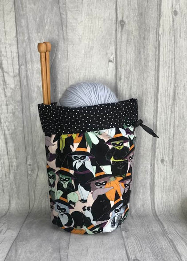 Witch Knitting and Crochet Project Bag image 0