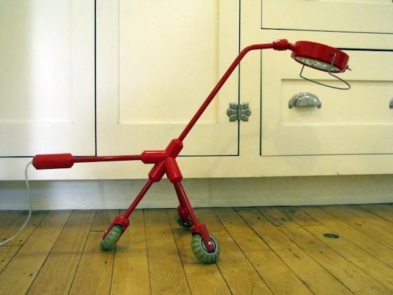 Vtg ikea kila moderne lampe de bureau avec roulettes ikea etsy