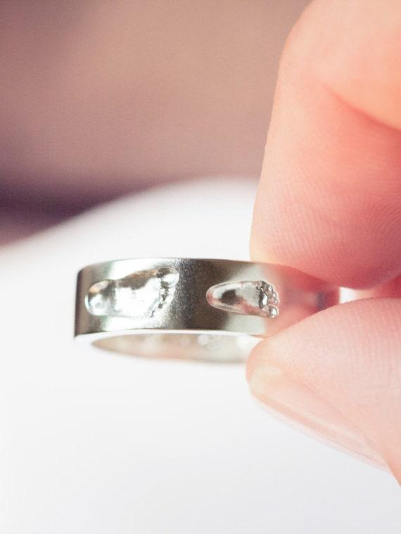 Muttertag ich liebe dich Briefe Edelstahl Finger Familie Ring Tochter Geschenk