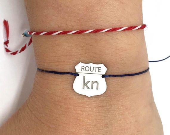 Personalised Memory bracelet. Laser Engrave Map, Initials, Shape . Unique bracelet laser cut bracelet. Design your perfect bracelet