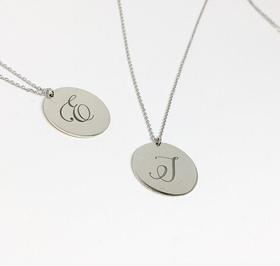 Initial or Name or Date Personalised Necklace. Name and Birth Date Necklace. Design your personalised necklace