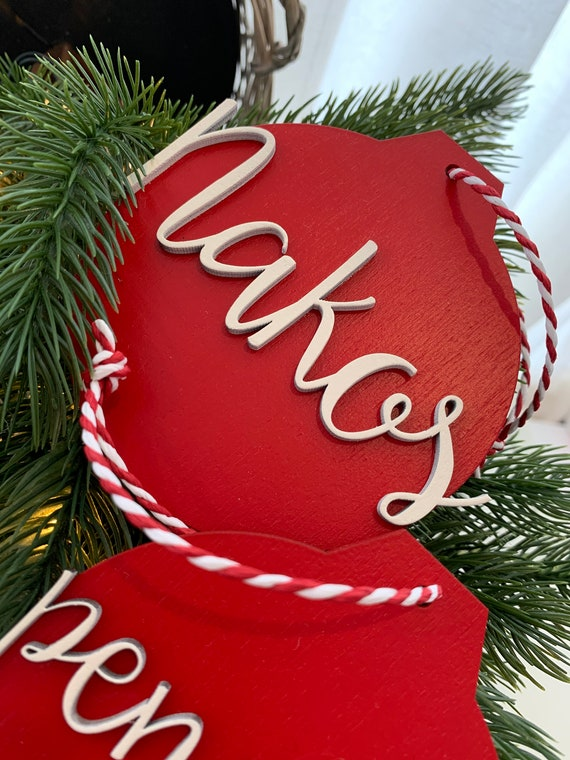 Personalised Christmas Ornament - Christmas tree decoration - Name Ornament - Gift for Christmas - Christmas for Family